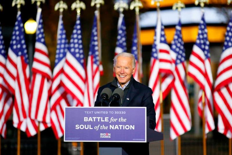 """Joe Biden: """"Podemos poner fin a la presidencia que dividió a la nación"""""""