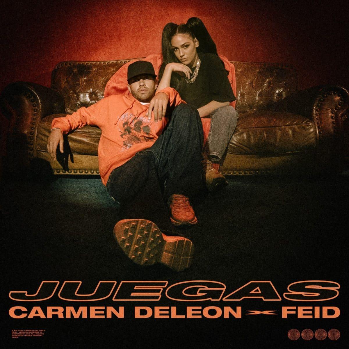 'Juegas' nuevo sencillo de la cantante Carmen DeLeon y el artista colombiano Feid