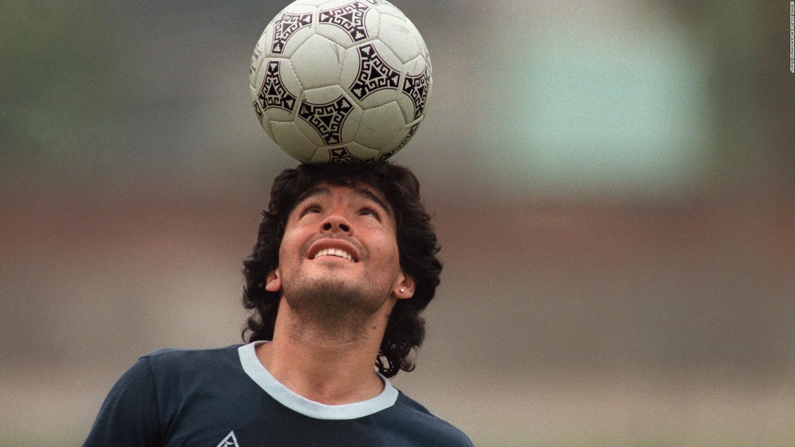 Presidente de la FIFA expresa pesar por la muerte de Diego Maradona