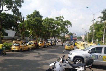 Este miércoles habrá 'Plan Tortuga' de taxistas en Cali: así será el recorrido