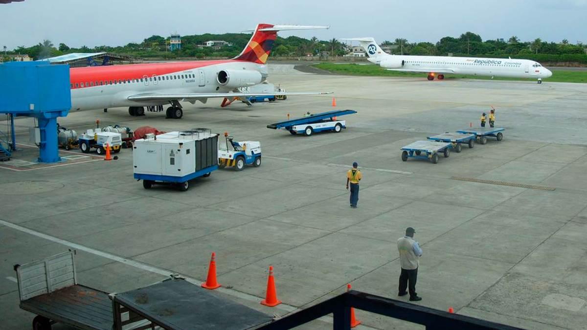 Reinicia operación en Aeropuerto de San Andrés para permitir salidas