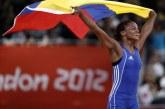 Con su hija en brazos, roban en Cali a Jackeline Rentería, medallista olímpica