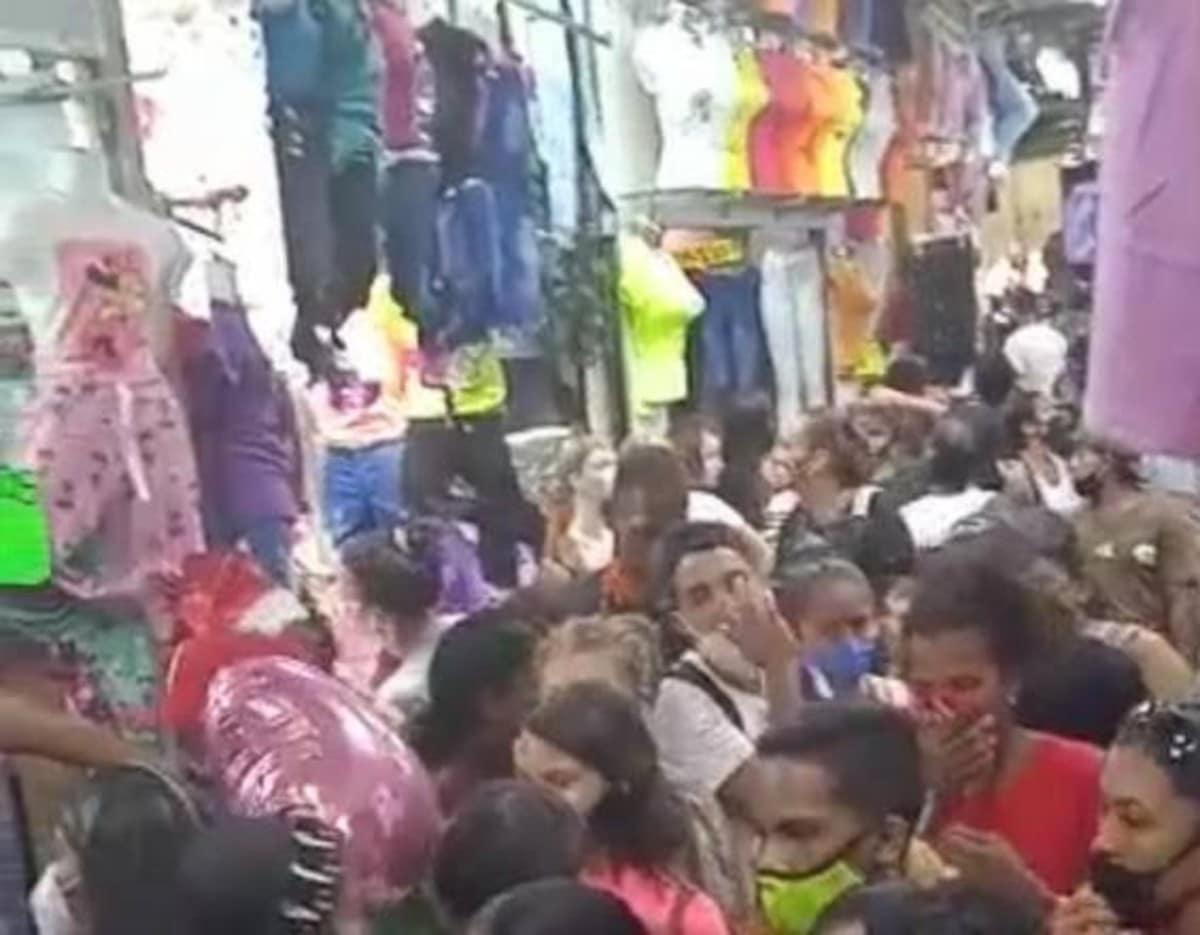 Desmienten video de aglomeración de personas en el centro de Cali
