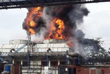 Gigantesco incendio estructural ocurrió en el Ingenio del Cauca, en Miranda