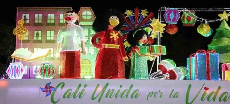 En su tercer día, el alumbrado navideño visitará al oriente de Cali