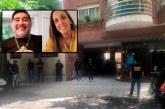 Allanan en Argentina casa y consultorio de psiquiatra de Maradona