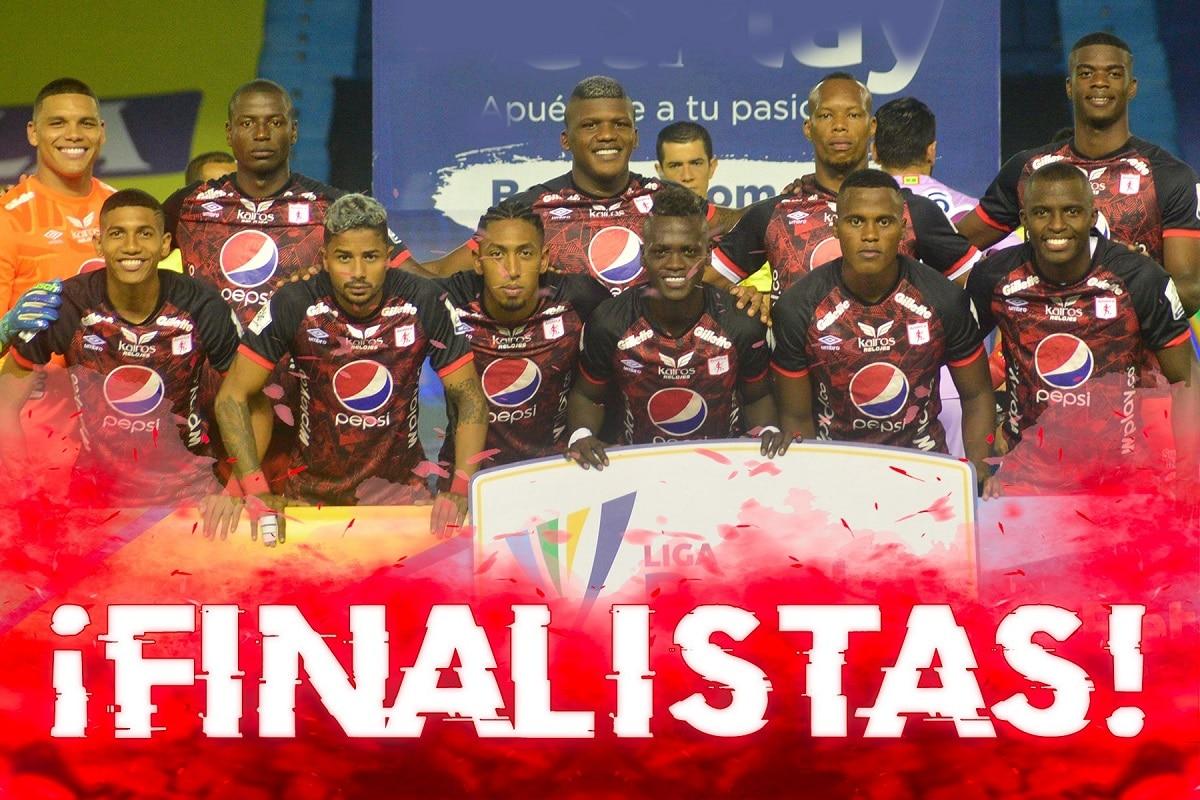 América aseguró su cupo en la final de la Liga Colombiana, tras derrotar a Junior en condición de visitante
