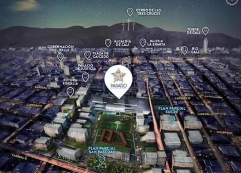 Avanza construcción de 'Ciudad Paraíso', proyecto que busca renovar el centro de Cali