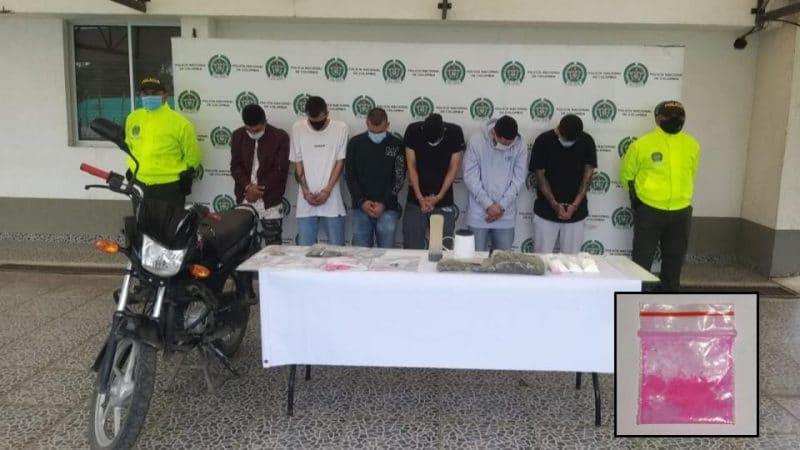 Capturan seis integrantes de 'Los Aviones' en Popayán