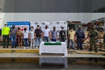 Capturadas 10 integrantes de la banda delincuencial 'Los Cofla' en Cartago