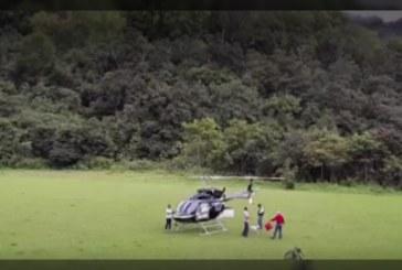 Delincuentes robaron un helicóptero que transportaba $1.500 millones, en Bolívar