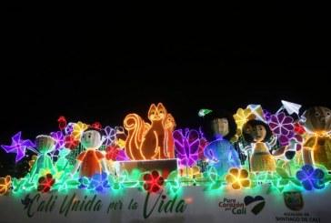 El alumbrado navideño móvil visitará el norte de Cali en su recorrido veinte