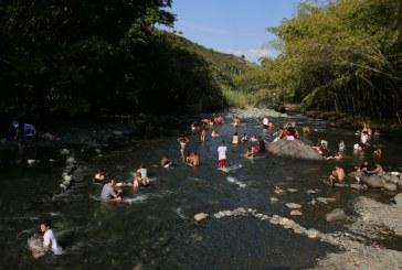 En el Valle se recomienda no realizar paseos a ríos por temporada de lluvias