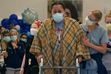 Enfermera es dada de alta tras permanecer 9 meses ingresada con covid