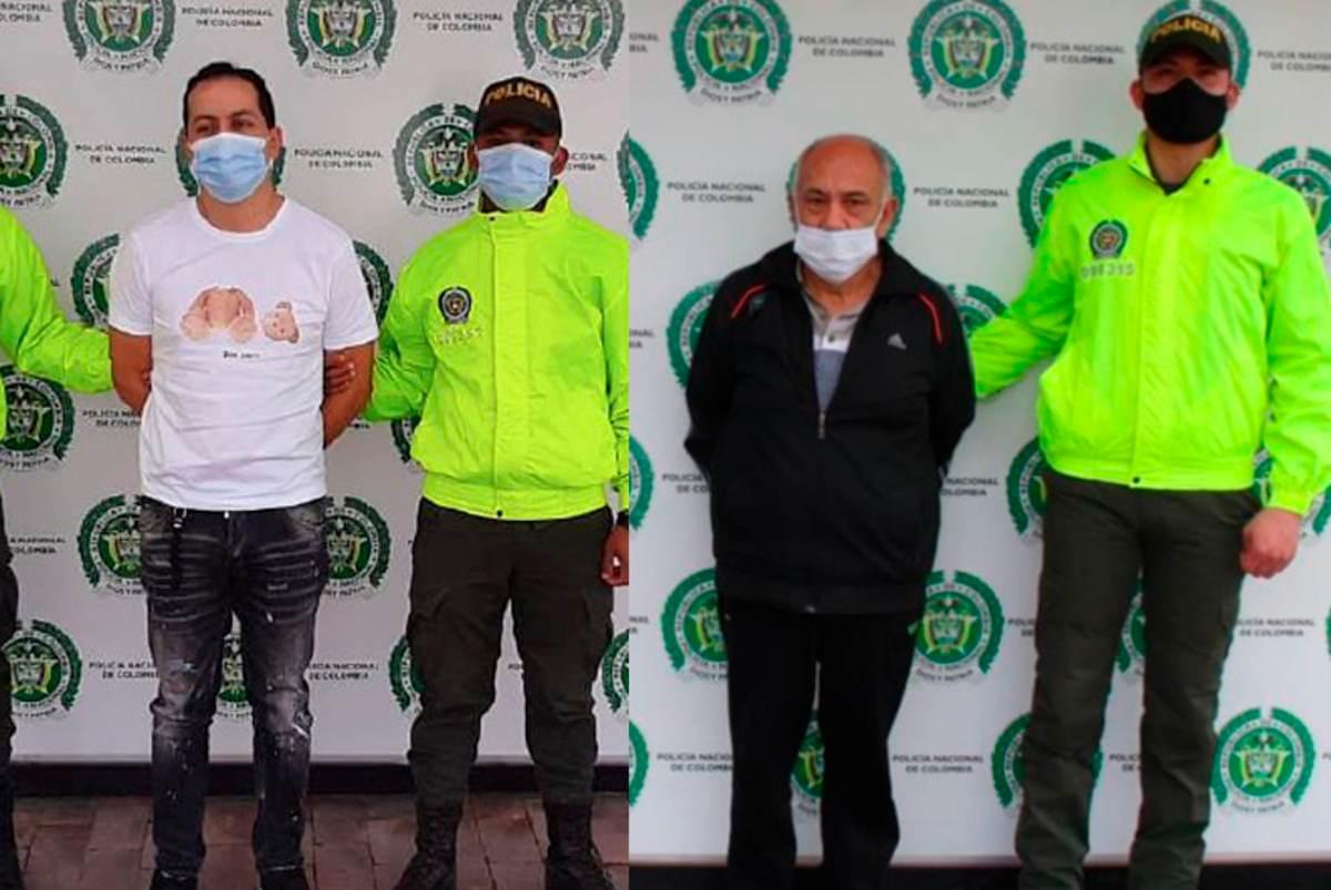 Capturan a dos colombianos solicitados en Estados Unidos