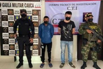 A la cárcel ´Los Falases´ dedicados a extorsión en Timbío Cauca