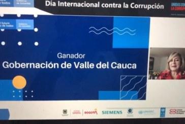 Gobernación del Valle ganó premio 'Transparencia e Integridad Institucional'