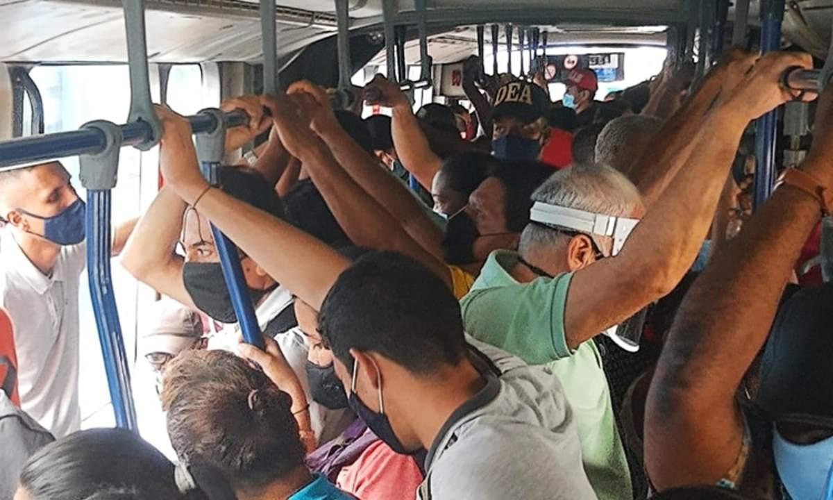 Gobierno amplió ocupación máxima en el transporte público