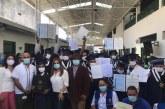 24 ex habitantes de la calle recibieron diploma de bachiller