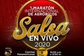 Primera Maratón Internacional de Aeróbicos a ritmo de salsa en Cali