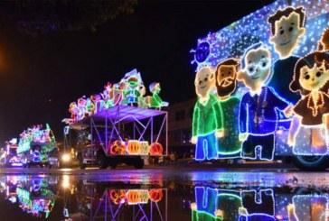 Conozca el recorrido del alumbrado navideño, para hoy 12 de diciembre