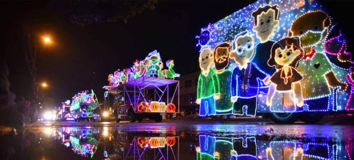 Este 23 de diciembre, el alumbrado navideño visitará el sur de Cali
