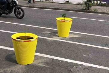 Retirarán materas instaladas en la calle octava