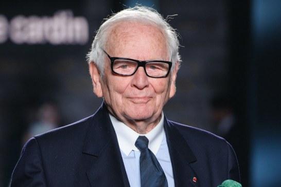 El legendario modista francés Pierre Cardin fallece a los 98 años