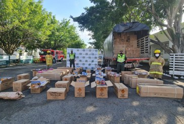 Policía incautó 10 toneladas de pólvora avaluada en $150.000 millones, en Cartago