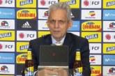 Así fue la presentación de Reinaldo Rueda como el nuevo técnico de la Selección Colombia