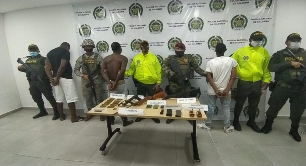 Capturan en Buenaventura a cabecilla de banda criminal 'La Local'