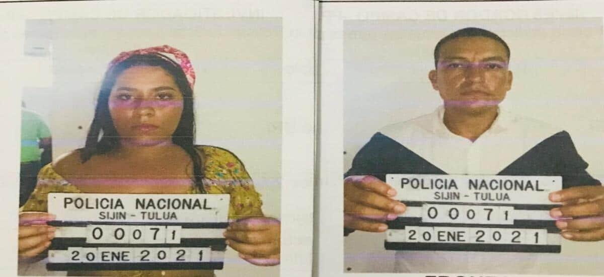 Detienen pareja acusada de transportar 2.000 detonantes en un vehículo