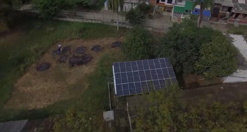 Instalan paneles solares en seis colegios del Valle para ayudar al medio ambiente