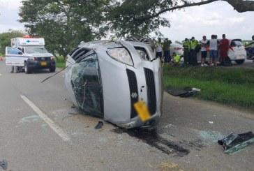 Jugadores del Orsomarso de Palmira sufrieron un accidente automovilístico