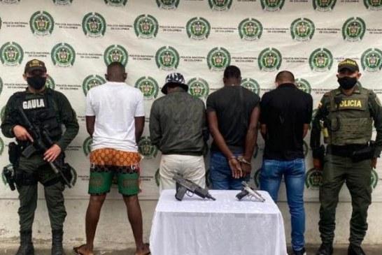 Capturan cuatro integrantes de grupos armados al margen de la ley en Nariño