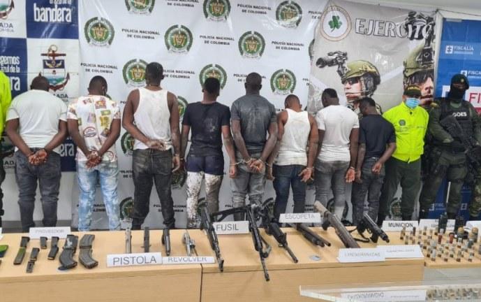 Capturados 8 presuntos miembros de la banda La Local en Buenaventura