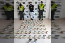 A la cárcel presunto responsable de transportar 18 kilos de marihuana en tarros de conservas de fruta