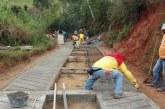 Comenzó el proyecto de mejoramiento en puntos críticos de vías rurales en el Valle
