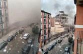 Dos muertos y varios heridos tras fuerte explosión en edificio de Madrid