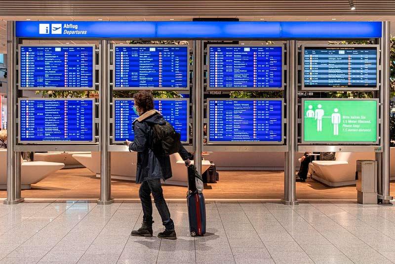 EE.UU. pedirá prueba negativa de covid-19 a todos los pasajeros aéreos