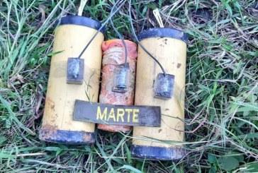 Ejército frustró atentado de cuatro cilindros bomba al norte del Cauca