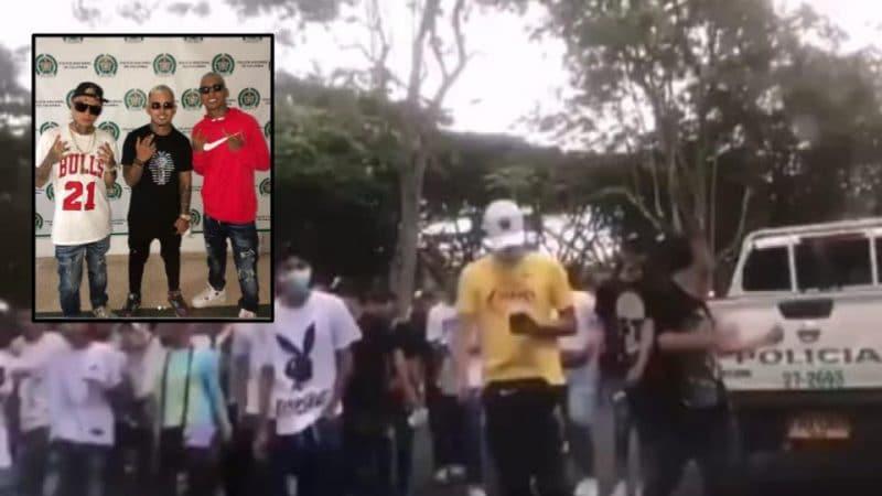 Encuentro convocado por influencers en el parque El Ingenio, dejó tres heridos