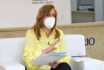 Gobernadora confirmó que el Valle también tendrá confinamiento total durante el fin de semana
