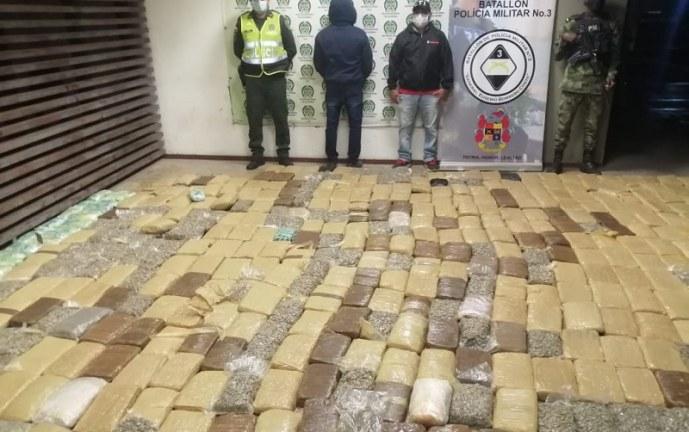 Capturado hombre que transportaba 400 kilos de marihuana en Yumbo