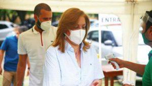 La Gobernadora espera que, en caso de que haya un nuevo pico de la pandemia, no se colapse el sistema de salud y que disminuyan las muertes.