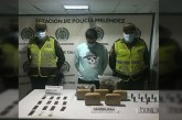 Judicializado hombre en Cali por transportar paquetes de marihuana y municiones
