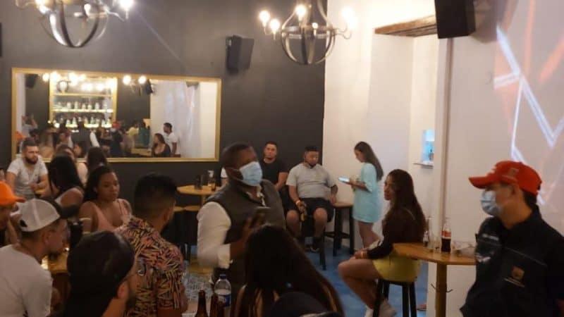 Desarticulan fiesta con más de 50 personas en hostal del centro de Cali