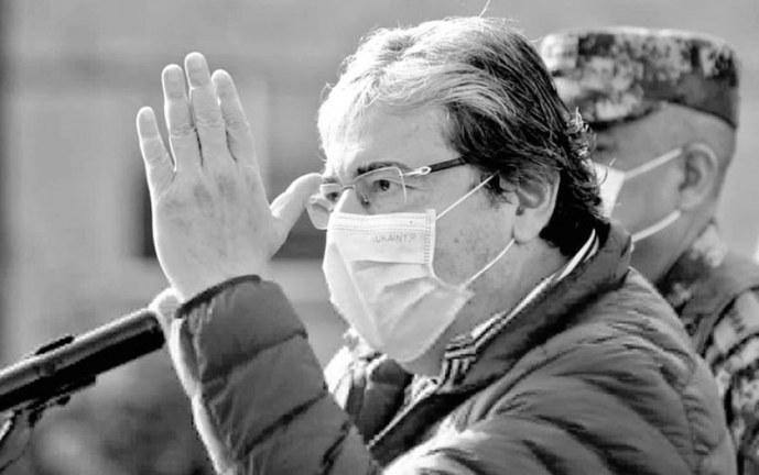 La muerte por coronavirus del ministro de Defensa sacude a Colombia