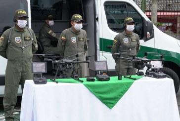 La Policía del Valle recibió cuatro drones para la mejora de sus operativos