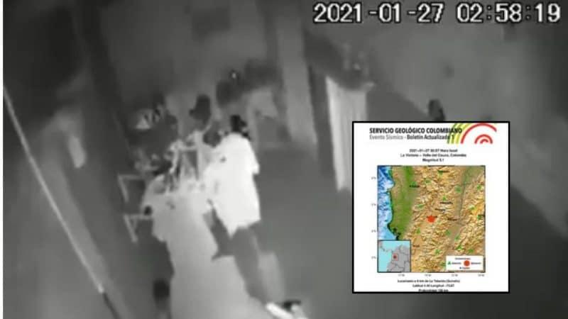 En vídeo: Así fue la situación en Colombia con el temblor que se presentó esta madrugada